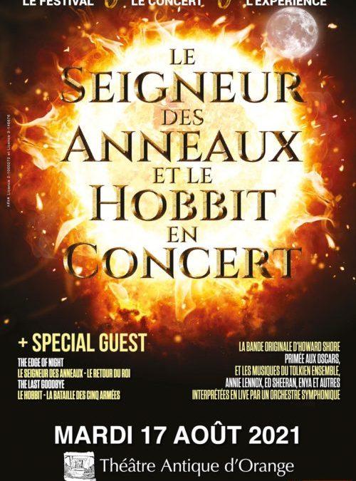Ciné-concert : le Seigneur des Anneaux et le Hobbit le 17 août prochain au Théâtre antique d'Orange