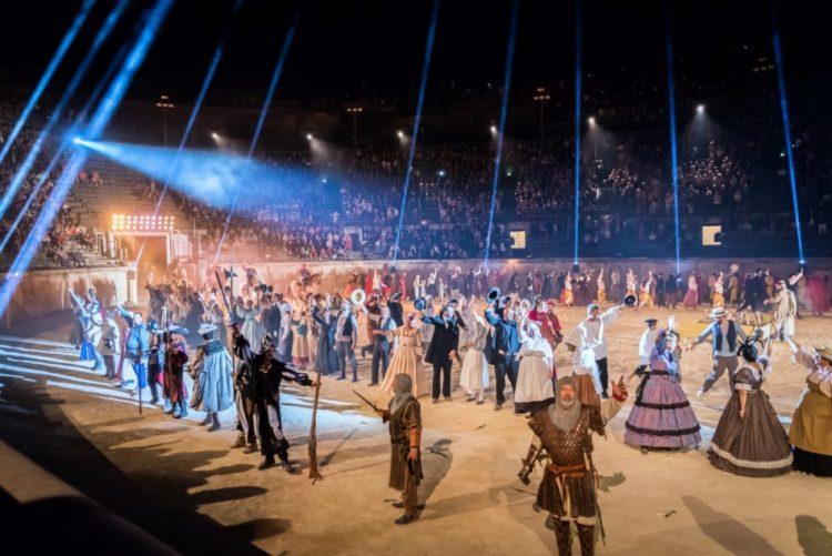 Nîmes : les Nuits de Nemaus de retour dans les arènes les 5, 6, 9 et 10 août