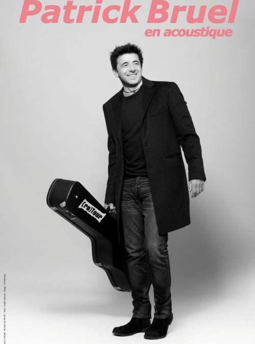 Annonce concert : Patrick Bruel arrive au Corum à Montpellier les 8 et 9 novembre