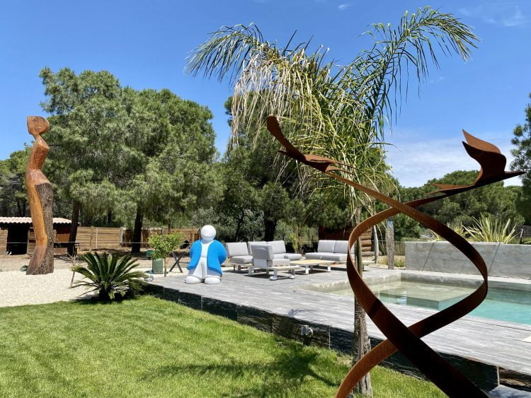 Aigues-Mortes : découvrez le Jardin de sculptures de Cécile Chiorino jusqu'au 1er septembre