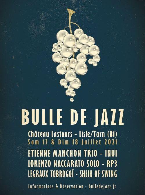 Lisle-sur-Tarn : le festival Bulle de Jazz annonce sa première édition les 17 et 18 juillet !
