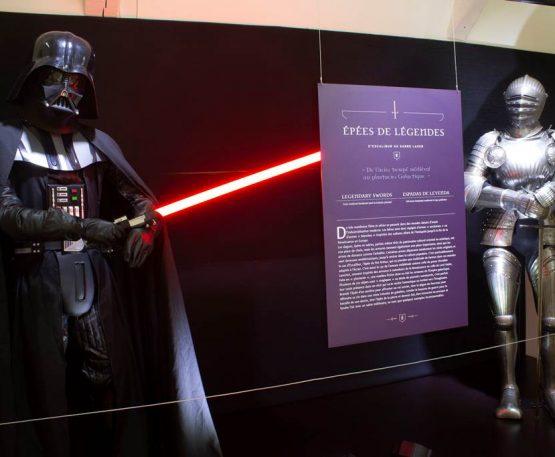 Foix : le château de Foix accueille l'exposition «Epées de légende, d'Excalibur au sabre laser» jusqu'au 31 décembre