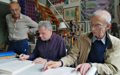 Montpellier: une présentation de livres d'artiste d'André Pierre Arnal, vendredi 25 juin au musée Fabre