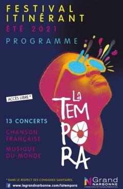 Narbonne : La Tempora déambule jusqu'au 12 août dans le Grand Narbonne