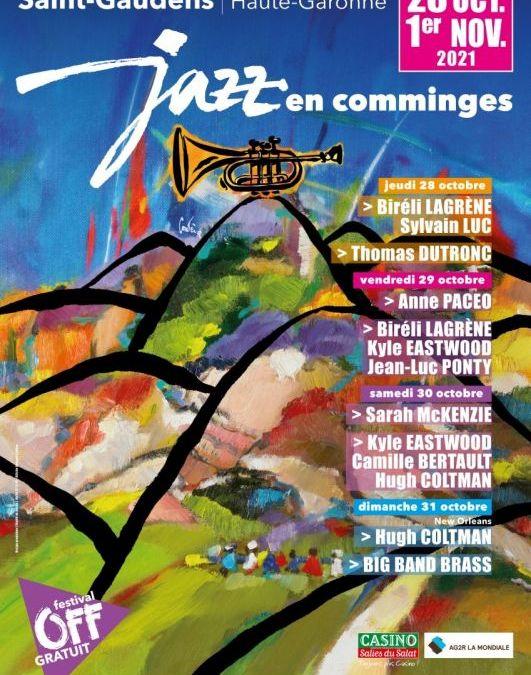 Saint-Gaudens : Jazz en Comminges fête sa 18e édition du 28 au 31 octobre