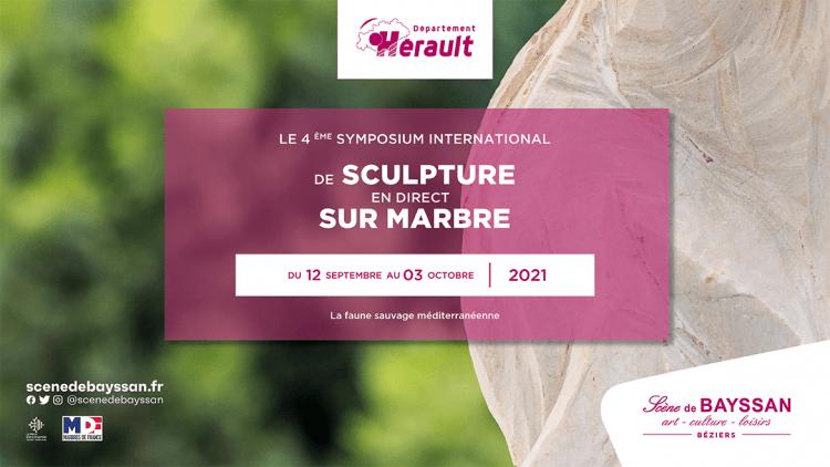 Béziers : la Scène de Bayssan accueille le 4ème Symposium international de marbre du 12 septembre au 3 octobre