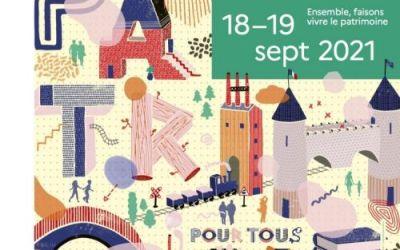 En région : découvrez notre sélection pour les 38èmes Journées européennes du patrimoine les 18 et 19 septembre