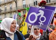 Mujer turca en París, Francia, 2009