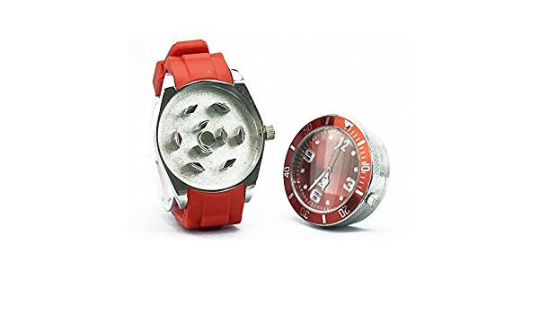 Moler cannabis: Grinder reloj de pulsera