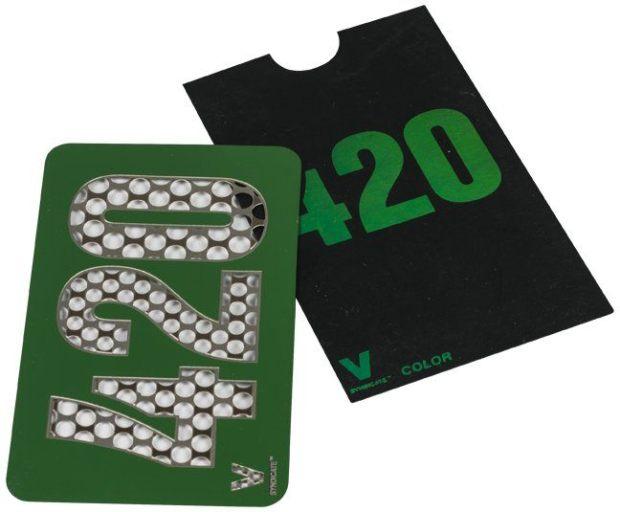 Moler cannabis: Grinder de tarjeta