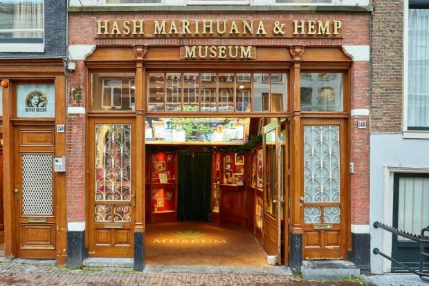 Hash Marihuana & Hemp Museum en Amsterdam