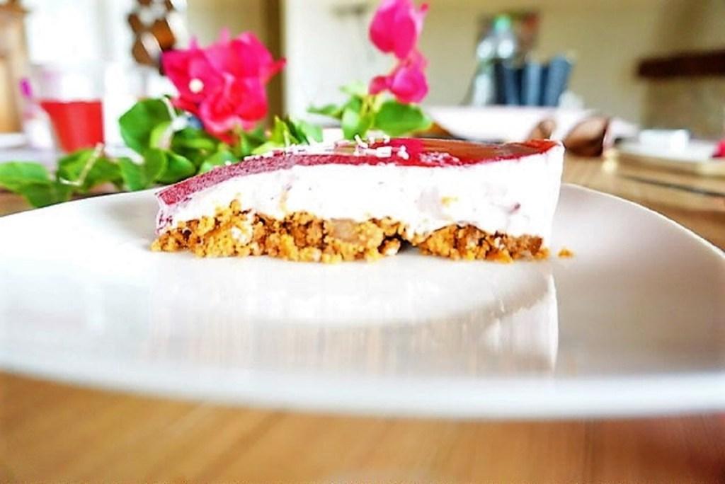 cheesecake aux framboises facon bavarois lasaisonencuisine