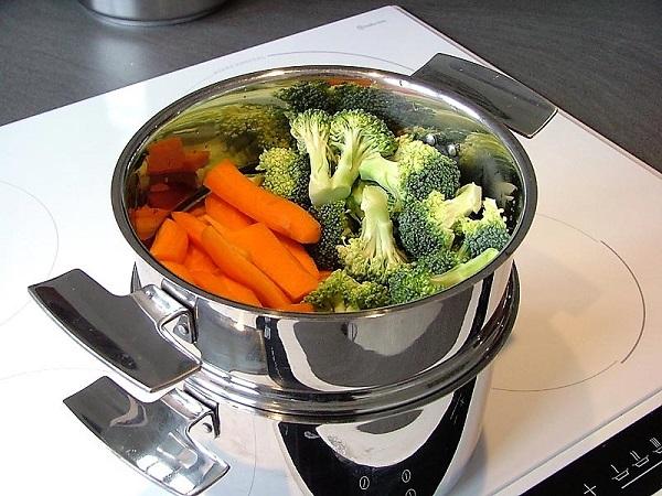 mode de cuisson douce vapeur
