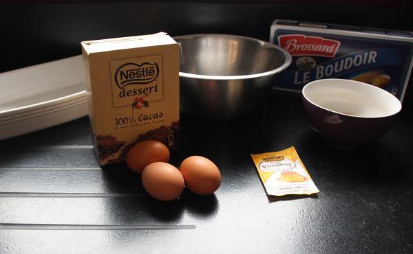 ingredients pour préparer un délicieux tiramisu