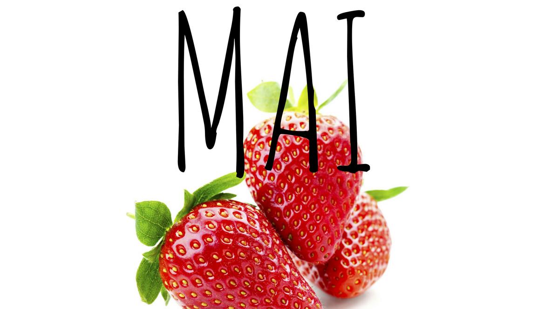 liste des fruits et légumes du mois de mai