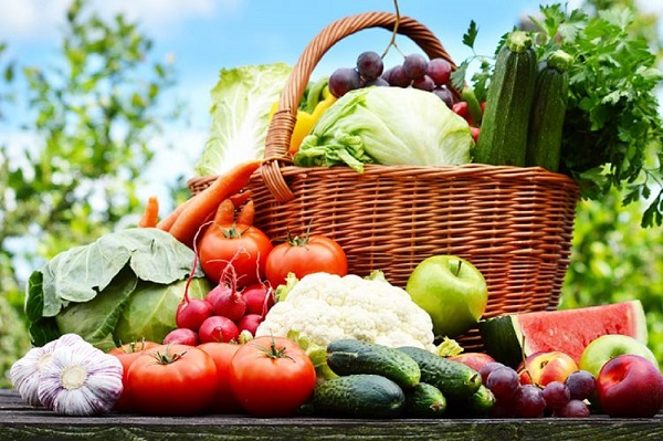 liste des fruits et légumes en juin