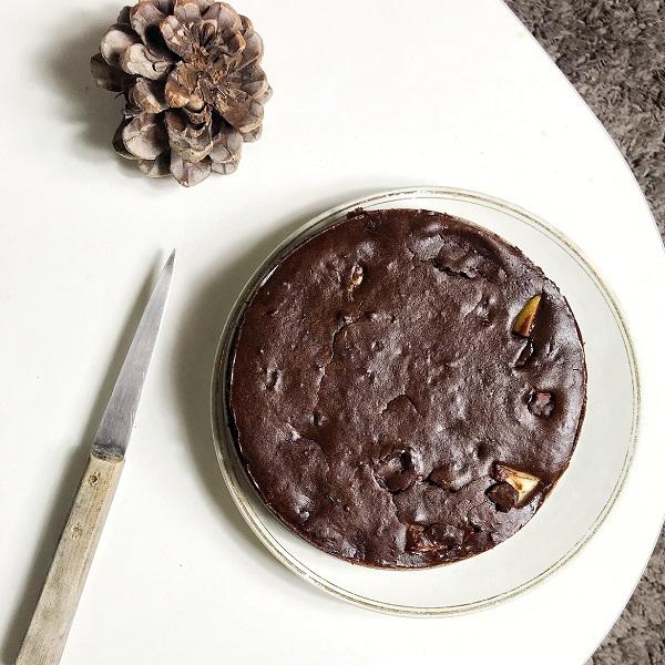recette gâteau chocolat haricots rouuges