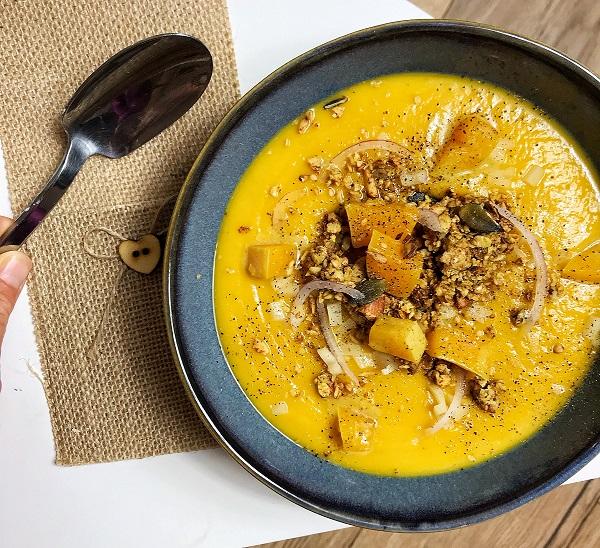 soupe butternut coco