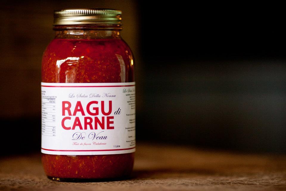 Sauce tomate à la viande Ragu Di Carne - 1 litre