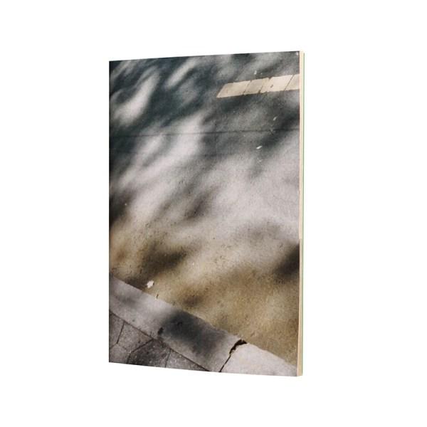 Un carnet poétique, graphique au papier kraft et papier calque pour un petit journal créatif à glisser dans sa poche