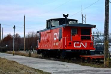 Vieja locomotora CN