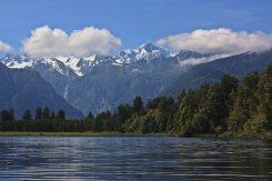 Lago Matheson y Alpes del sur