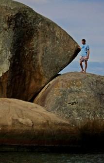 Victor en roca