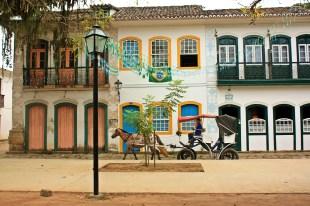 Casa colorida Paraty