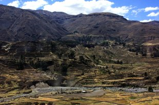 Andenes Incas