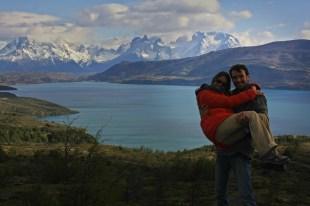 Victor y Ruth en el PN Torres del Paine