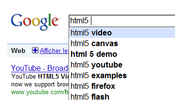 Proposition pour html5, video