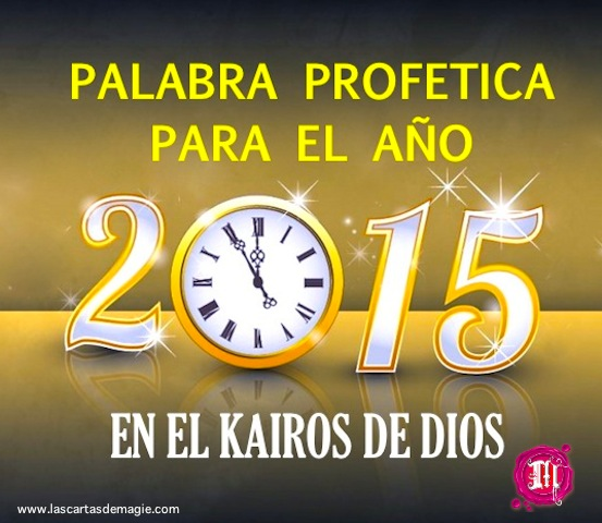 Palabra Profética Año 2015
