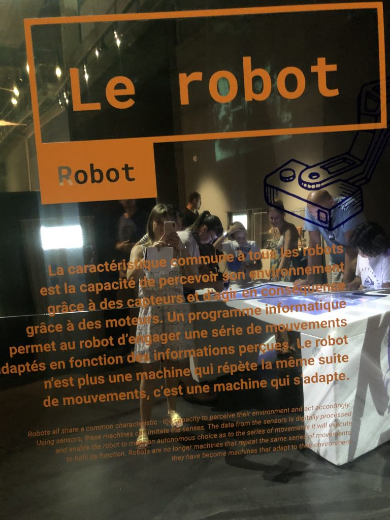 Robots, Cap Sciences, Sciences, Exposition