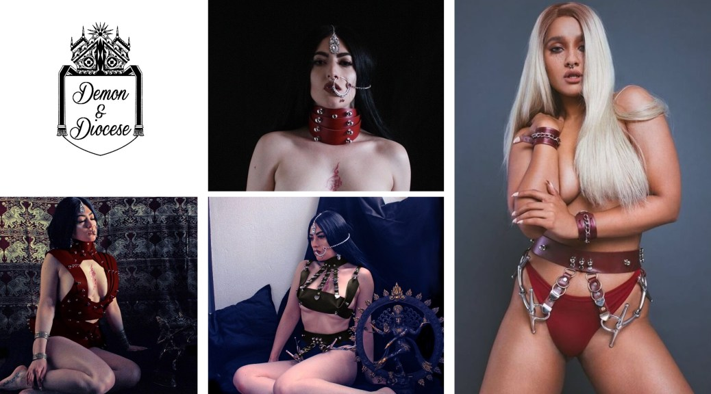 Haley Deanna Johnstone of torture-leather clothing brand Demon & Diocese, interviewed by Lascivious Marketing
