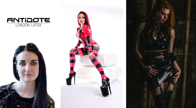 Jennifer Brawls of Antidote London Latex, interview with erotic marketing agency, Lascivious Marketing
