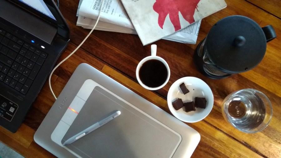 cafe y chocolate objetos migracion