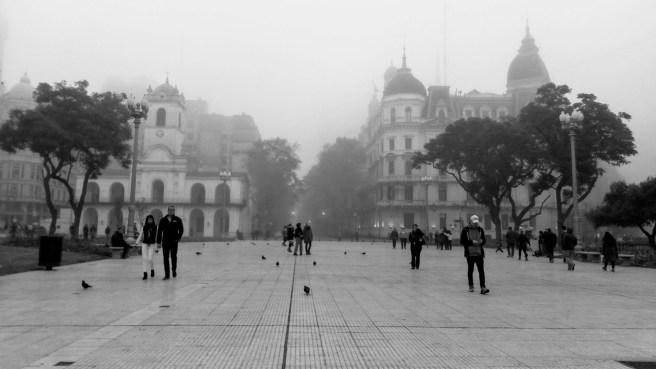 Plaza de mayo. Buenos Aires, Argentina. Manual espacio y comportamiento