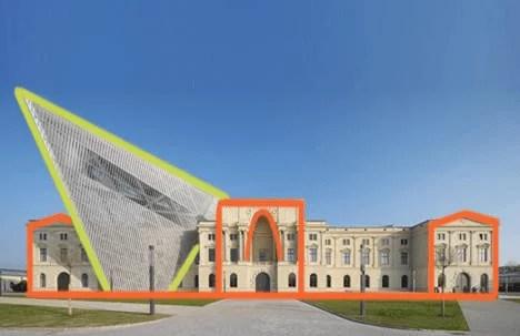 Sinergia arquitectura clásica y moderna