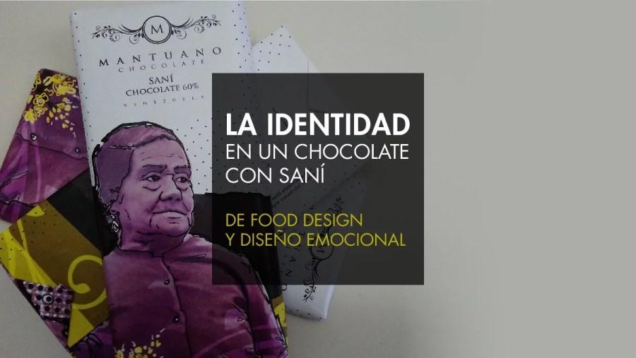 identidad y diseño en un chocolate
