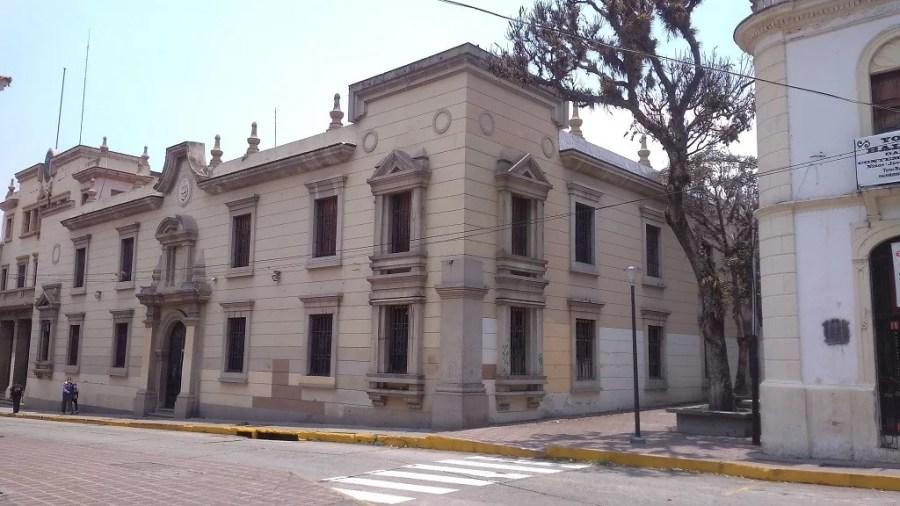 Duelo Urbano. Rectorado de la Universidad de Los Andes. Mérida