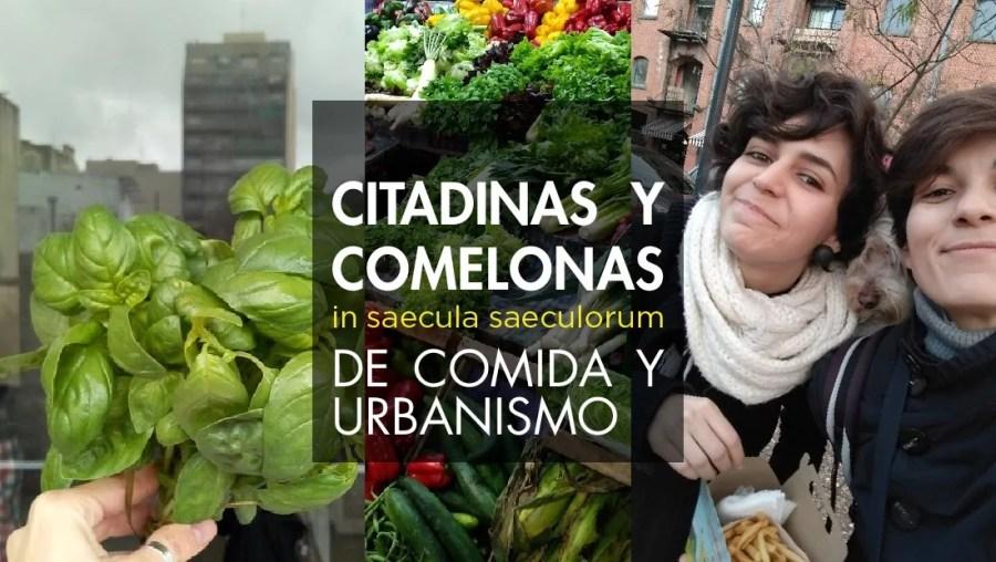comida y urbanismo
