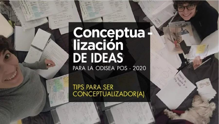 conceptualización pos 2020