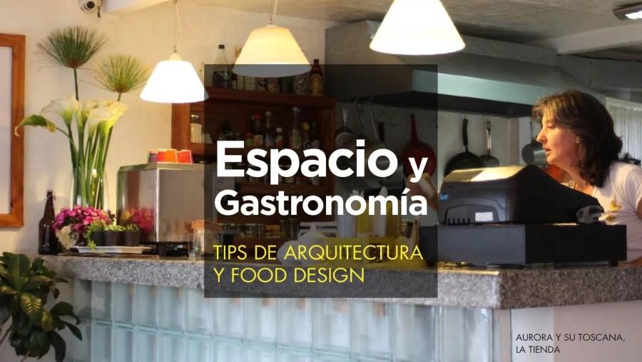 tips de arquitectura y food design