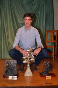 Alejandro Gardel entrega premios Huerta del Rey 2