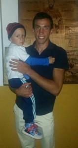 David de Miranda con Aitor