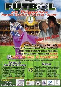 futbol solidario amigos david de miranda vs toreros