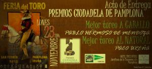 premios ciudadela de pamplona