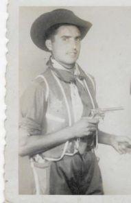 Mi morena papa de vaquero. Indios y vaqueros.