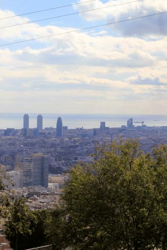 Barcelona, vistas panorámicas, Torre Baró, mirador desconocido, blog de viajes, Las cosas de París