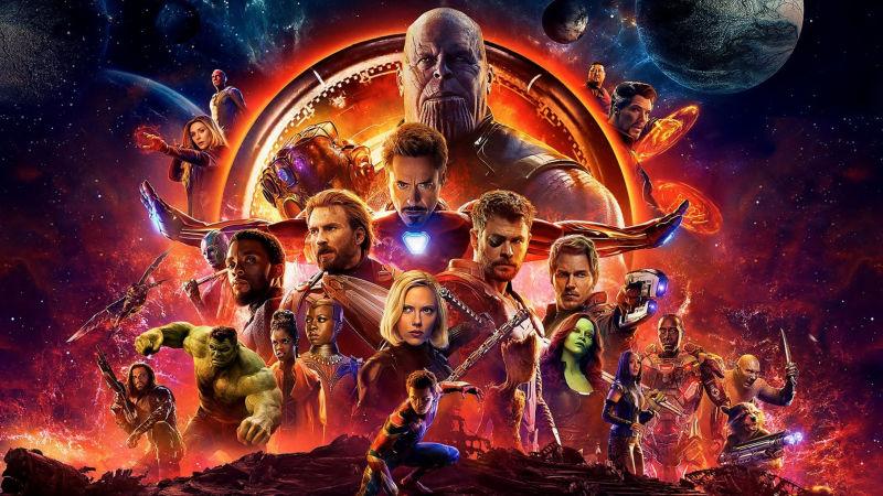 Vengadores Infinity War Poster Oficil